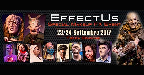 Con Baburka Production arriva a Roma la terza edizione di EFFECTUS, l'unico evento italiano dedicato agli Effetti Speciali di Trucco