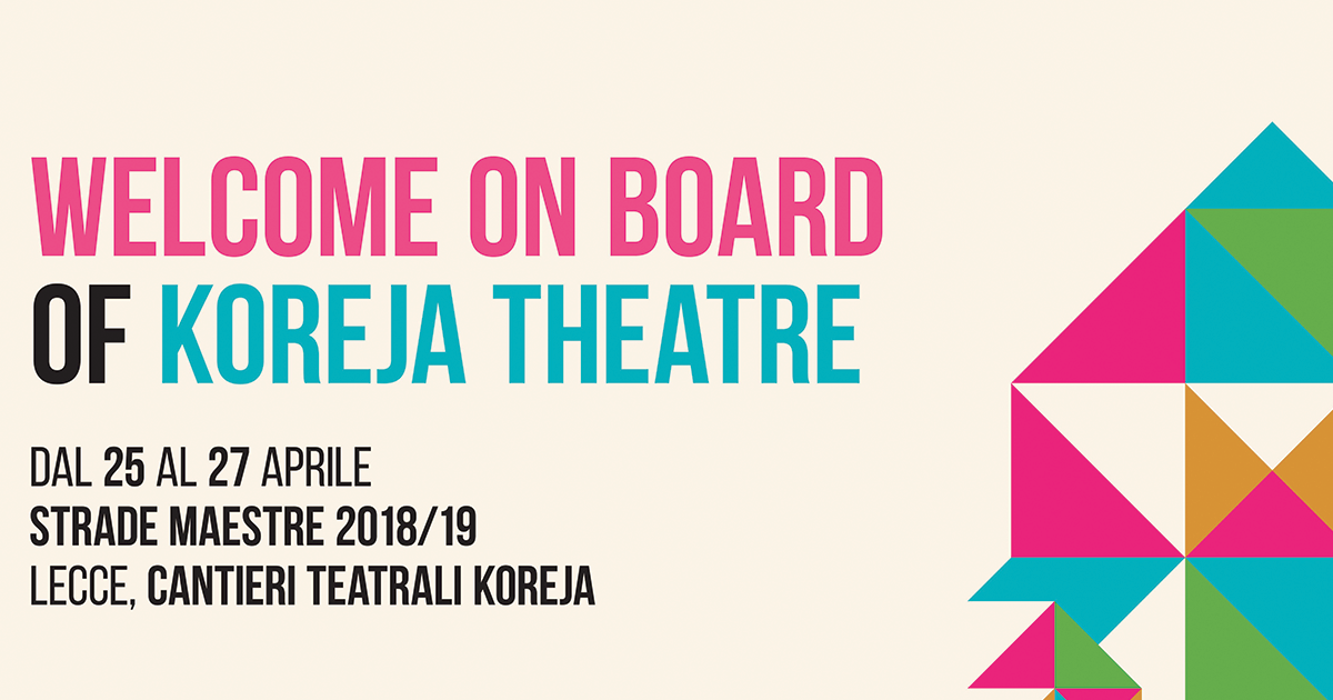 Giardini Di Plastica Koreja.Welcome On Board Of Koreja Theatre La 3 Giorni Di Koreja Conclude