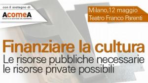 finanziare cultura, 12mag2014